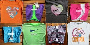 GIRLS 6X SUMMER CLOTHING ~ TEMPO RUNNING SHORTS~ T-SHIRTS NEW ~ 8 Pieces ~ $178