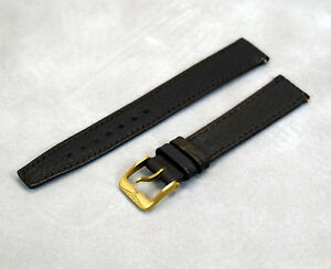 NEW Genuine Longines 16mm Brown Leather Watch Bracelet Strap L-300902016