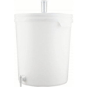 8 Gallon Fermenting Bucket with Spigot Lid amp; Air Lock Homebrew Beer Wine Spirit
