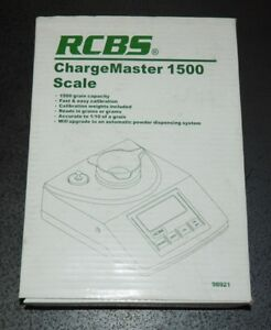RCBS ChargeMaster 1500 Electronic Scale-120 VAC-(98920)-NOS-(IB) discontinued