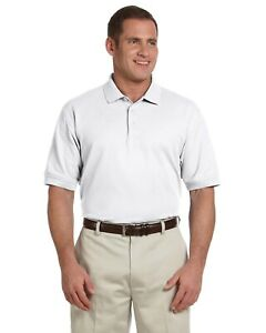 Devon amp; Jones Mens Pima Pique Short Sleeve Polo Sport Shirts Knits S 6XL D100 $19.77