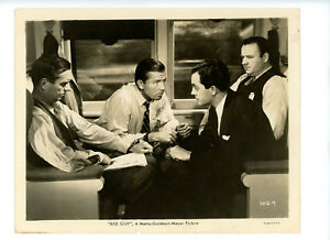 BAD GUY Original Movie Stills 8x10 Bruce Cabot Edward Norris Crime 1937 8562