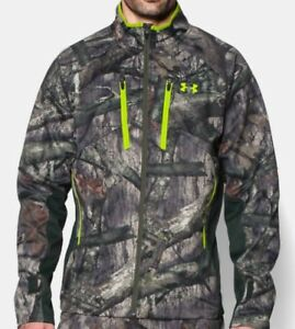 Under Armour Scent Control Infrared Softershell Camo Jacket and Pants-XL