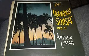 Arthur Lyman Hawaiian Sunset- Vol 2 HIFI SL1025 1965 33 JazzEasy Listening