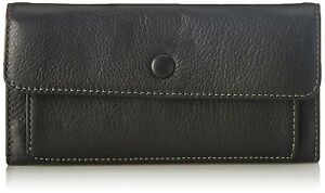 Fossil Blake clutch ladies black wallet NEW ! FREE SHIPPING