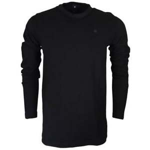 G-Star Motac Dry Jersey Relaxed Fit Black Long Sleeve T-Shirt