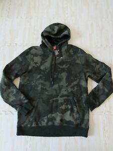 UNDER ARMOUR MENS RIVAL CAMO FLEECE HOODIE 1311238 NWT