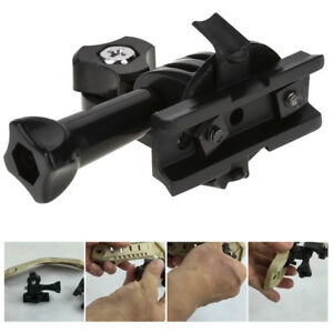 Tactics Helmet Mount Adapter with Screw For Sony Sport Camera AS50R AS300R AM