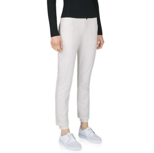 Under Armour Sport Womens Endurance Golf Pants Lined White Size 4