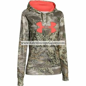 UNDER ARMOUR WOMENS HOODIES  XXL ~ 2XL ~ CAMOUFLAGE ~ NWT ~ #1276202