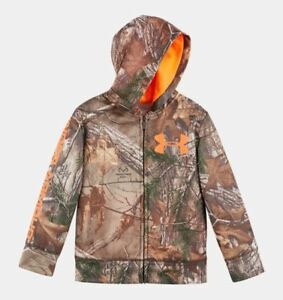 UNDER ARMOUR BOYS 24 MONTHS ~ CAMOUFLAGE REALTREE HOODIE ~  NEW $53 Retail