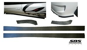 2 Side & 2 rear side Splitters for 2015-2020 Charger SRT Hellcat & ScatPack GT