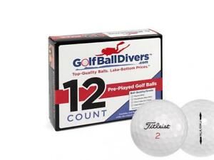 Titleist ProV1x - Near Mint (AAAA) Grade Recycled (Used) Golf Balls 144 Pack
