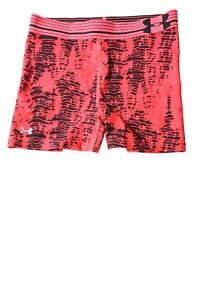 USED Under Armour Girl's Shorts X-Small Black & Pink