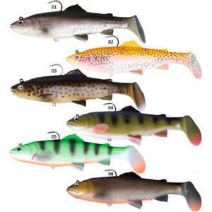 SAVAGE GEAR 3D TROUT RATTLE SHAD SEA COARSE BOAT ROD FISHING SPINNING PIKE LURE