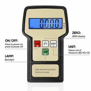 Electronic Digital Refrigerant Charging Weight Scale with Case for HVAC 220lbs $50.99