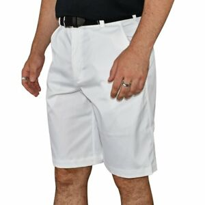 New Nike Golf Flat Front Tech Golf Shorts - White
