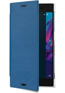 Roxfit Premium Book Case for Sony Xperia XZs and XZ (Blue)