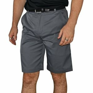 New Nike Golf Flat Front Tech Golf Shorts - Dark Grey