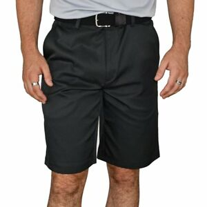 New Nike Golf Flat Front Tech Golf Shorts - Black