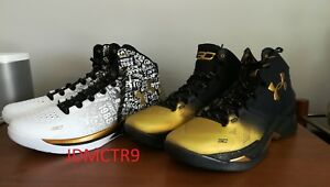 UNDER ARMOUR CURRY Back to Back MVP Pack  2 Pairs Men's  Basketball Size 14 DS