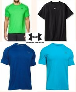 lot UNDER ARMOUR loose fit shirts heat gear short sleeve quick dry mens small