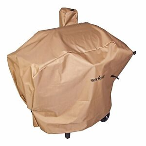 Camp Chef Weather Resistant Nylon Heavy Duty 24quot; Pellet Grill Cover Tan PCPG24L
