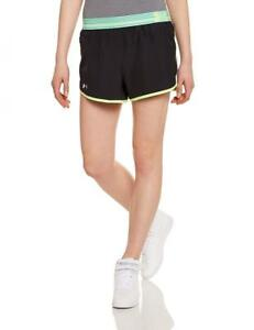 Under Armour Women's Perfect Pace Running Shorts - BlackX-RayReflective