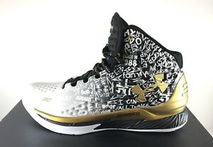 Under Armour Curry B2B Back 2 Back MVP Mens  Basketball Shoes Size 12 1's ONLY
