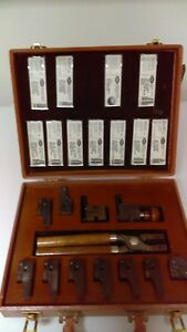 ohaus lead bullet mold set - collector's item