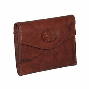 Buxton Women's Genuine Leather Heiress Mini Trifold Wallet