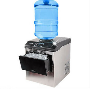 Commercial ice cube maker machine Bullet round ice block making  machine