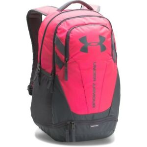 [1294720-975] New Men's UA Under Armour Hustle 3.0 Backpack - Pink MSRP $55