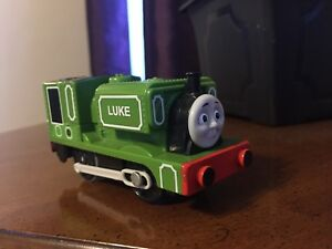 Luke Thomas The Tank Engine Trackmaster Motorized Train 2011 Mattel Tested Works