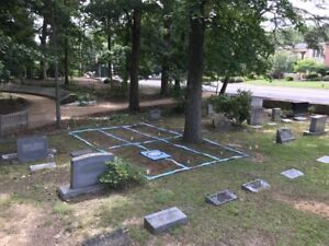 Very rare and large Legacy Cemetery Plot - Old Chapel Hill Cemetery (NC)