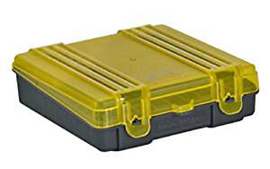 PLANO 1224-00 Plano 100 Count Handgun Ammo Case w hinged cover Holds 9mm380ac...