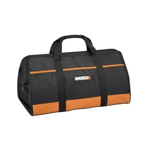 WA0079 WORX Zippered Tool Tote with Interior and Exterior Pockets