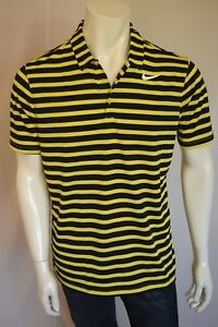 NIKE  STANDARD Fit Dry Fit  SHIRT POLO Men's SZ LARGE in 358 YELLOW
