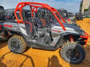 2018 Can-Am® Commander™ XT™ 1000R Brushed Aluminum & Can-Am Red