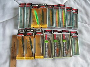 Rapala Fishing Lure Lot 2=16 Lures