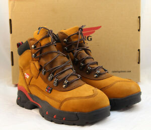 """NWB RED WING Size 9 B Safety Toe EH Women's 6"""" Work Boots 2691 RETAIL $189"""