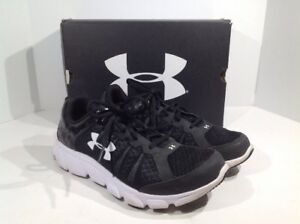 Under Armour Boys Size 7Y Black Micro G Assert 6 Athletic Shoes  TY-43