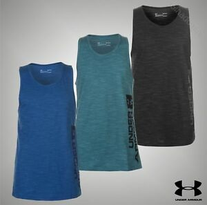 Mens Genuine Under Armour Lightweight Loose Fit Sportstyle Tank Top Size S-XXL