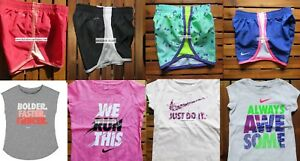 NIKE GIRLS ~ 2T or 4T * 8pc NIKE TEMPO RUNNING SHORTS ~ T-SHIRTS ~ SUMMER $175