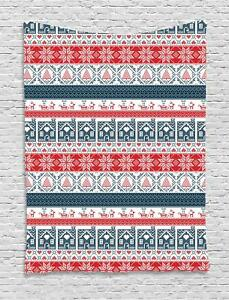 Nordic Tapestry Wall Hanging Decoration for Room 2 Sizes Available Ambesonne