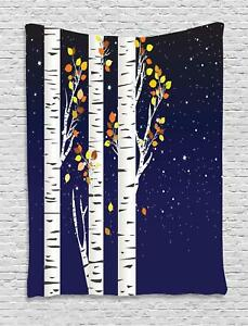 Birch Tapestry Wall Hanging Decoration for Room 2 Sizes Available