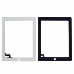 Front Panel Touch Screen Glass Digitizer Replacement For iPad 2 w.tools Adhesive