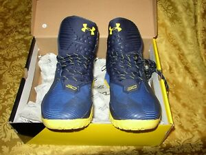 GOLDEN STATE WORRIORS STEPHEN CURRY 2.5 UNDER ARMOUR SHOES MEN US SIZE 12