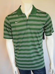 NIKE Better World Game Time Polo Shirt Dry Fit  Men's SZ MEDIUM in Gorge Green