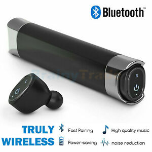 Wireless Headphones Bluetooth Twins Stereo In-Ear Earbuds for iPhone